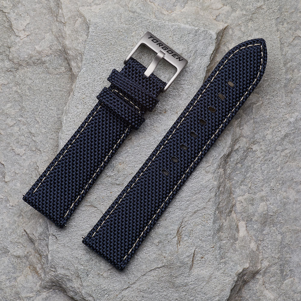 Blue Nylon Strap | 22mm