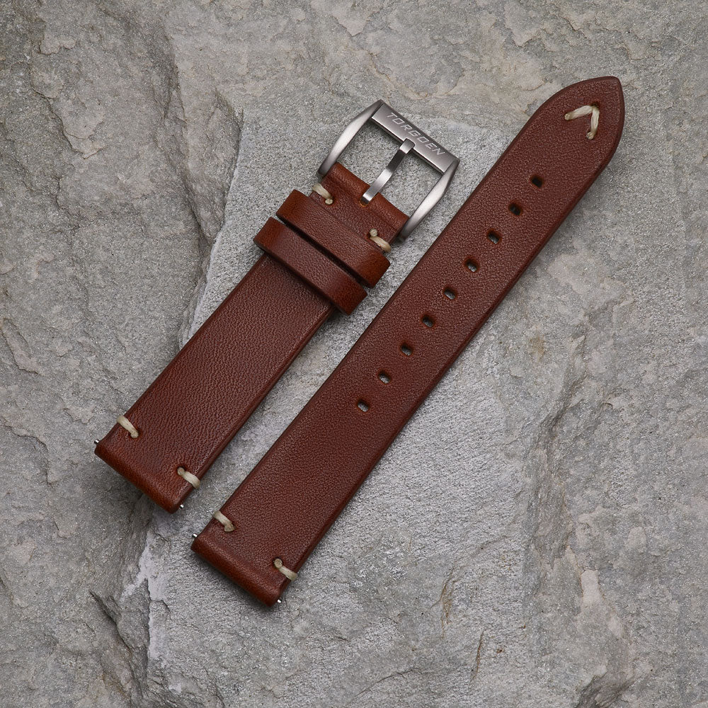 Brown Leather Strap | 20mm
