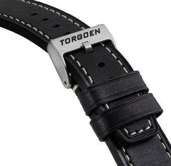 Black Leather Strap | 24mm