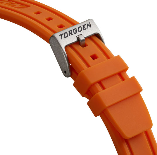 Orange PU Strap | 22mm