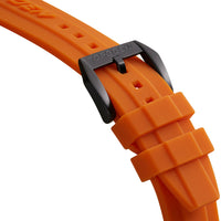 Orange PU Strap | 24mm