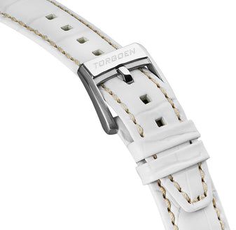 White leather strap | 22mm
