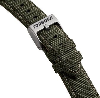 Military Green Nylon Strap | 22mm