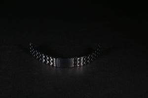 22mm Black Ionic Plating Stainless Steel Bracelet - Torgoen
