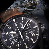 T36 Black | 44mm - Limited Edition - Valjoux 7750