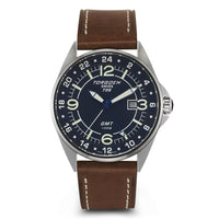 T25 Blue | 45mm - Leather Strap