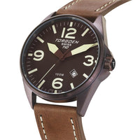 T10 Brown | 45mm - Leather Strap