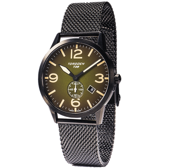 T39 Green | 41mm - Metal Strap