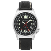 T05 Black | 42mm - Leather