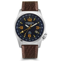 T05 Blue GMT | 42mm - Leather