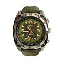 T07 Green E6B | 43mm - Nylon Strap