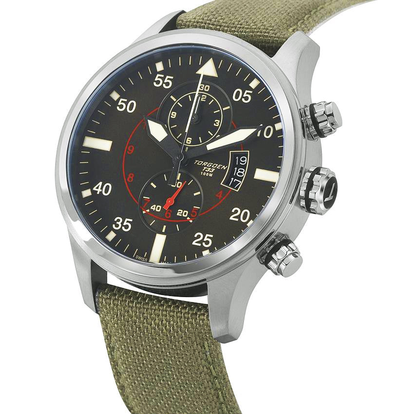 T33 Green | 45mm - Nylon Strap
