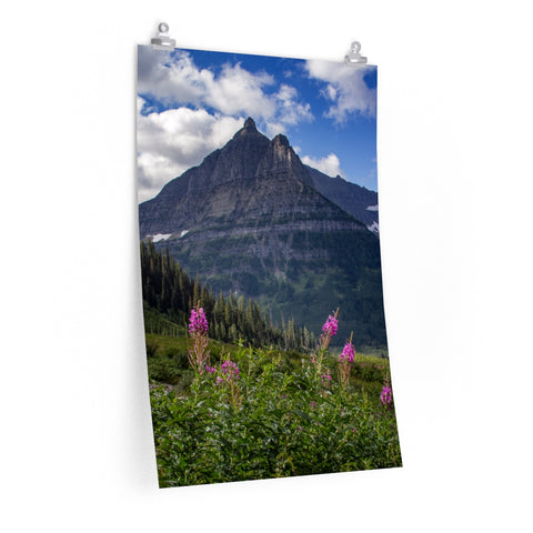 """Glacier Sky"" Premium Matte vertical posters by John Ramer Photography"