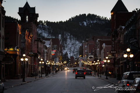 Deadwood at Dusk by John Ramer Photography