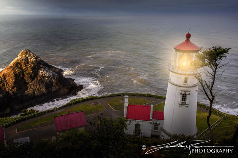 Heceta Head Light by John Ramer Photography