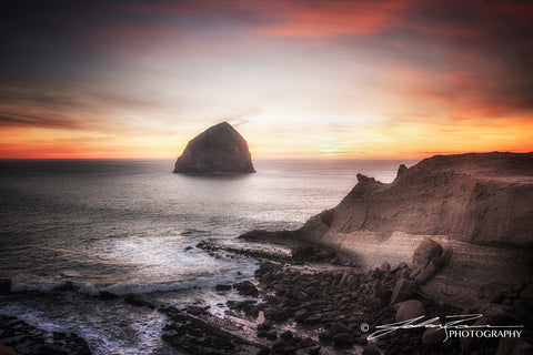 That Moment in Time at Kiwanda by John Ramer Photography