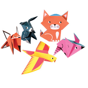 Origami Animals - Zigzag and Zebra