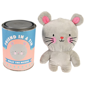 Friend In A Tin Milly The Mouse - Zigzag and Zebra