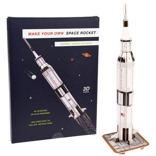 zigzag-and-zebra - 3D Space Rocket Puzzle - Zigzag and Zebra - Toy