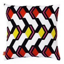 Rombo Cushion Cover- Bibu - Zigzag and Zebra