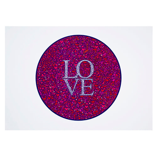 Love Print-A2 - Zigzag and Zebra
