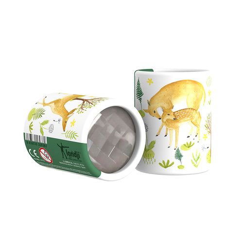 Mini Deer Kaleidoscope- Londji - Zigzag and Zebra