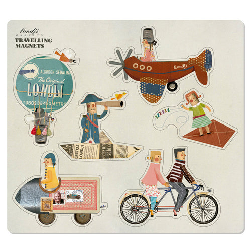 Set of 6 Travelling Magnets- Londji