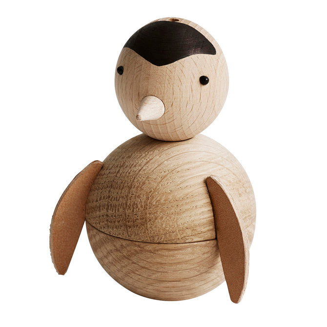 zigzag-and-zebra - Wooden Penguin- OYOY - Zigzag and Zebra - Baby