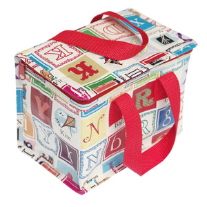 Alphabet Blocks Design Lunchbag - Zigzag and Zebra