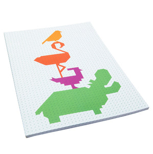 zigzag-and-zebra - Gridbook Animal Parade- Studio Roof - Zigzag and Zebra - Toy