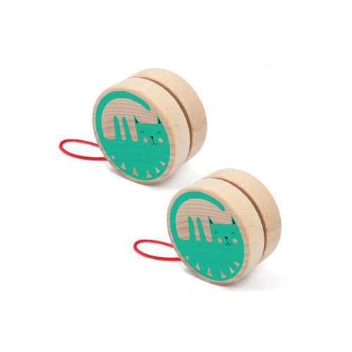 Cat Yoyo- Londji - Zigzag and Zebra