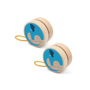 Elephant Yoyo- Londji - Zigzag and Zebra