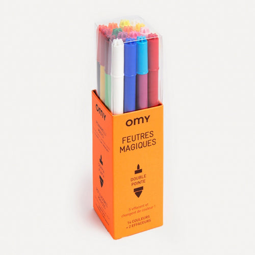 Magic Felt Pens- Omy - Zigzag and Zebra