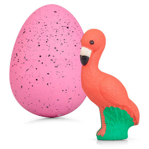 Giant Flamingo Hatching Egg - Zigzag and Zebra