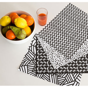 Graphic Placemats- Omy - Zigzag and Zebra