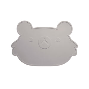 Koala Placemat (grey)-Petit Monkey - Zigzag and Zebra