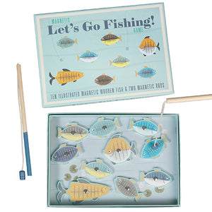 Magnetic Let's Go Fishing Game