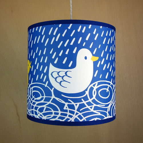 Pendant 'Ducks' Lampshade- Lisa Jones - Zigzag and Zebra