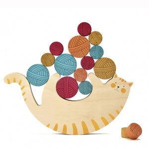 zigzag-and-zebra - Meow! A Balancing Game- Londji - Zigzag and Zebra - Toy