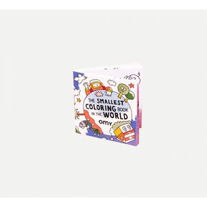 Smallest Colouring Book In The World-Omy - Zigzag and Zebra