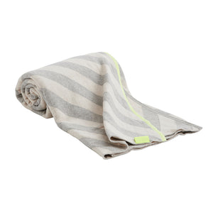Mumi Plaid Striped Baby Blanket- OYOY - Zigzag and Zebra