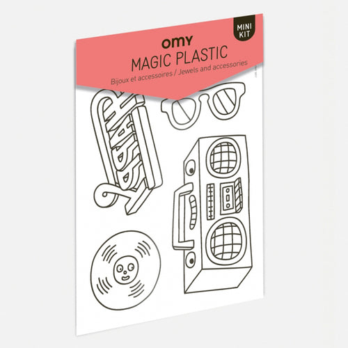 Magic Plastic- Omy - Zigzag and Zebra