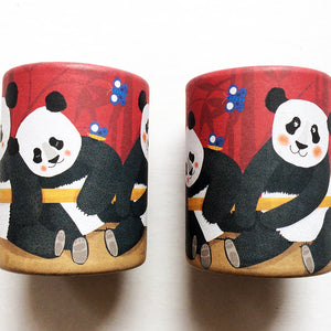 Mini Panda Kaleidoscope- Londji - Zigzag and Zebra