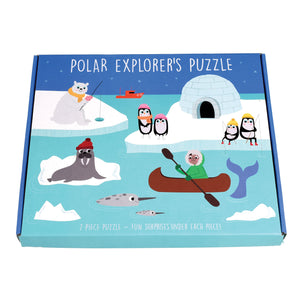 Polar Explorer's Puzzle- Rex London - Zigzag and Zebra