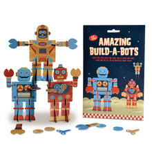 Amazing Build-a-Bots- Clockwork Soldier - Zigzag and Zebra