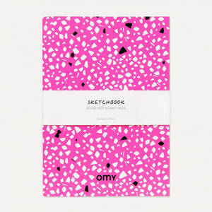 Pink Sketchbook- Omy - Zigzag and Zebra