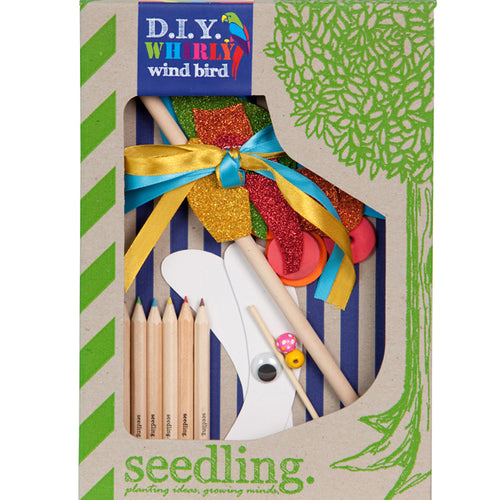 Create Your Own Whirly Wind Bird- Seedling