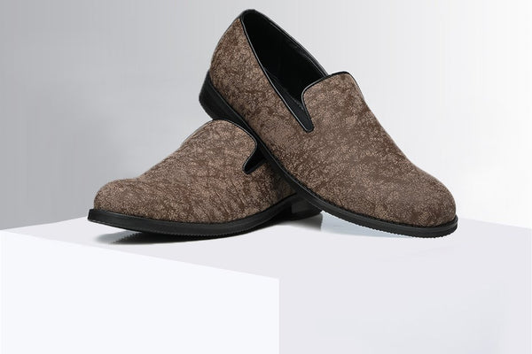Frosted Brown Loafers - A Tailor's Tale
