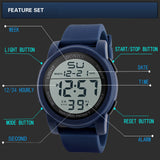 Focus Tactical Digital Sport LED Watch - Features