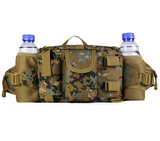 Focus Tactical 3-Way Outdoor Hydration Waist Pack - CL Camo